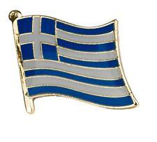 Greece Flag Pin Lapel Badge Greek Hellas High Quality Gloss Enamel