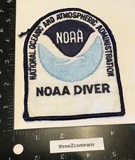 Vtg NOAA Diver National Oceanic And Atmospheric Administration Patch Federal