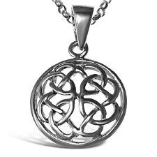 Charles Rennie Mackintosh Sterling  Silver Celtic Claddagh Pendant  0862