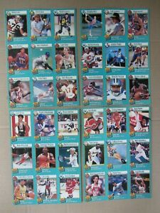 Complete 1st Year 1989 Sports Illustrated Kids all 12 Card Sheets JORDAN BIRD