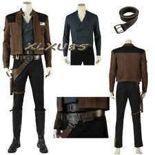 New released Star Wars Men Han Solo Cosplay Costume Full Suit Hallowmas any size