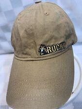 ROCKY Brown Adjustable Adult Baseball Ball Cap Hat