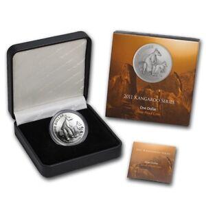 Australia 2011 Kangaroo 1 oz Proof Silver coin