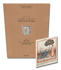 Rivista Di Storia Della Miniatura 1-2: 1996-1997, Ceccantim, 8870383156 Art Book