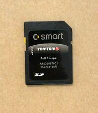 LATEST 2019/2020 SD card for SMART 453 TomTom Sat Nav  MAP Europe & UK