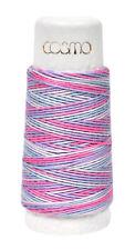 Cosmo Hidamari Sashiko Variegated Thread 30 Meters Cotton Candy