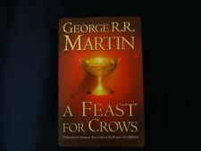A Feast for Crows Hardback First Edition First Print 2005 George R.R. Martin