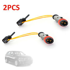 2xRear Front Brake Pad Wear Sensor Indicator Wire For Mercedes Benz W211 220 204
