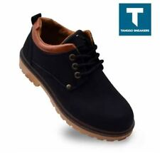 Karlwin Men's Fashion Boots Shoes (BLACK) - Size 39