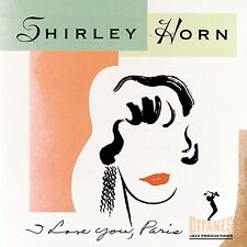 I Love You, Paris by Shirley Horn (CD, Sep-1994, Verve) JZ1690