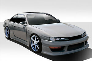 97-98 Fits Nissan 240SX V-Speed Duraflex 8 Pcs Full Wide Body Kit!!! 109518
