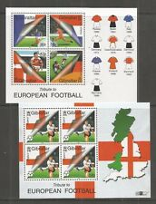 GIBRALTAR 2000 FOOTBALL EURO CHAMPIONSHIPS MINISHEETS U/MINT SG.MS911 LOT 5511A