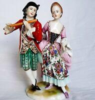Antique Furstenberg Dresden  Figurine 1880's Germany
