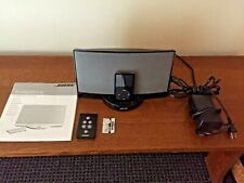 BOSE SoundDock Digital Music Sys 30 Pin +30 GB iPod +remote +Power Cord + book