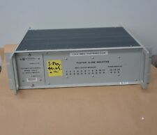 AUSTRON Datum DISTRIBUTION CHASSIS 1295D DC Supply Module + Position Alarm