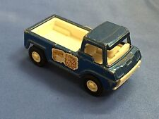 1969 TOOTSIETOY VINTAGE PICK UP TRUCK BLUE WHEELIE WAGON W/BED LINER MADE IN USA
