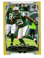 2014 Bilal Powell Topps Gold Parallel Card #279 Jets 1888/2014
