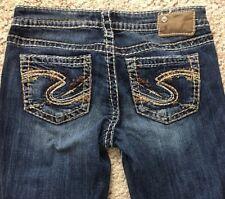 Silver Womens Jeans Size 28 L33 Aiko Bootcut