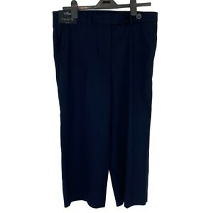 Next Tailoring Culotte Navy Blue New with tags Trousers. UK Size 12. Immaculate.