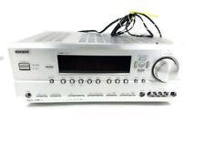 Silver Onkyo TX-SR604 7.1 AV Receiver DTS HDMI Grey