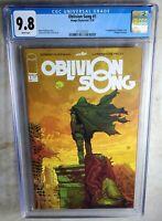 Oblivion Song #1 1st Nathan - Image/Skybound 2018 CGC 9.8 NM/MT WP - Comic J0107