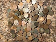 LOT OF 25 COINS (1/2 ROLL) CULL JUNK INDIAN HEAD CENT PENNIES FREE SHIPPING!
