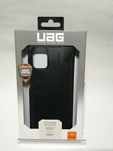 Authentic UAG Urban Armor Gear Scout Series Case for moto g STYLUS(2021) (Black)