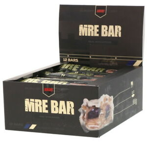 Redcon1 | MRE Bar - Meal Replacement Bar | Blueberry Cobbler, 12 Bars