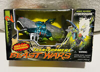 Transformers Beast Wars Transmetals 2 CyberShark Action Figure New in Open Box