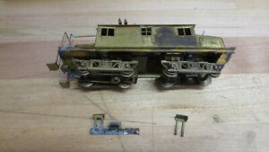 Ken Kidder C,SS&SB RR 85 Ton Steeple Cab 1011-1014 Project Locomotive Brass  HO