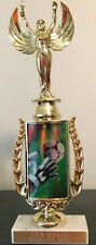 """12.75"""" Soccer Trophy Personalized Free"""