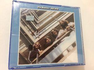 THE BEATLES - 1967-1970 (The Blue Album) Double CD RARE Spanish Argentina Issue