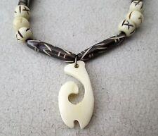 NiCe!! Hmong Hill Tribe Bone Necklace Handmade