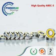Yellow Rubber 50PCS 8x16x5  688-2RS ABEC3 8X16X5mm Model bearing Motor bearing