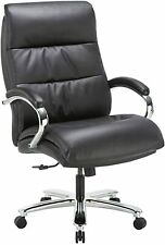 Clatina Ergonomic Big Amp Tall Executive Office Chair With Bonded Leather 400lbs