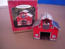 Hallmark Keepsake Ornament - Red Barn - 1999