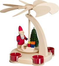 Pyramids Christmas for Candles & Tealights Santa Claus with Slide 16251