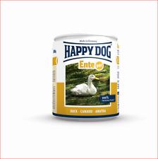 2x12x400g Happy Dog Dosen Ente pur Hundefutter Nassfutter