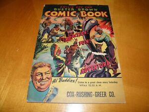 Buster Brown #1 1945 Shoe Store Giveaway Edd Ashe Jack Sparling Art Pirates GVG