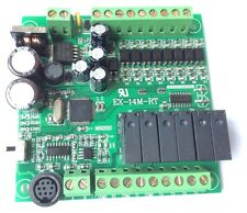 14MR 8 input/6 output,PLC by Mitsubishi FX1S Gx developer Without cable RS485