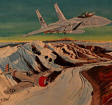 """Ready Then, 1941 .. and Ready Now, 1983"", LE Litho by Steve Hillyer, Collector"
