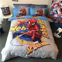 Spider-Man Single/Queen/King Bed Quilt/Doona/Duvet Cover Set 100% Cotton