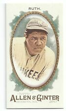 2017 Topps Allen & Ginter (A&G) BABE RUTH Mini EXT from RIP CARD SSP #377