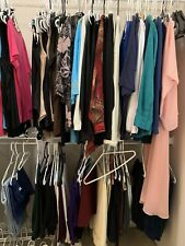 Huge Closet Women's Shirts Plus Size 18-2x Mixed Pants Jackets Tops Clothing