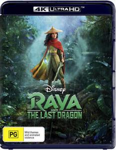 Raya And The Last Dragon Disney 4K Ultra HD BRAND NEW Region B
