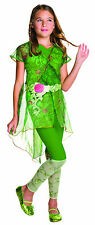 Kids Deluxe Poison Ivy Costume DC Superhero Girls Costume Size Medium 8-10