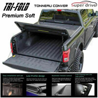 Fits 2015-2020 Ford F-150 Lock Soft Tri-fold Tonneau Cover 8ft (96) Long Bed
