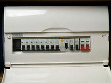 BG 10-Way Split Load 17th Edition Consumer Unit 2 x RCBO, 80A RCD, 8 x MCBs