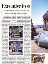Austin Westminster Original Car Review Print Article J359