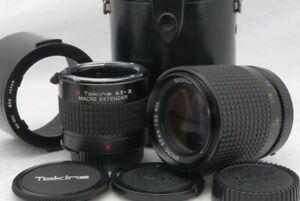 Exc++ Tokina AT-X Macro 90mm F 2.5 F/2.5 For Nikon Ai Lens w/Extender *8409359